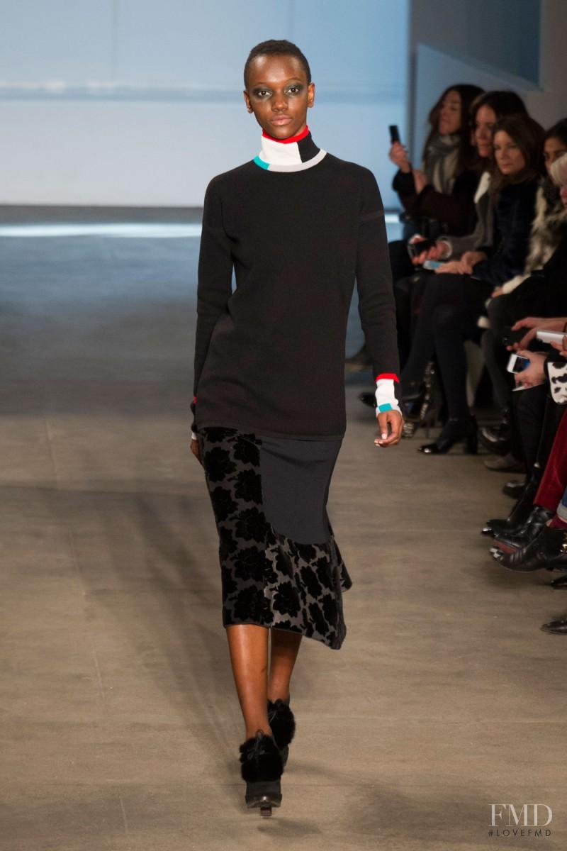Herieth Paul featured in  the Derek Lam fashion show for Autumn/Winter 2014