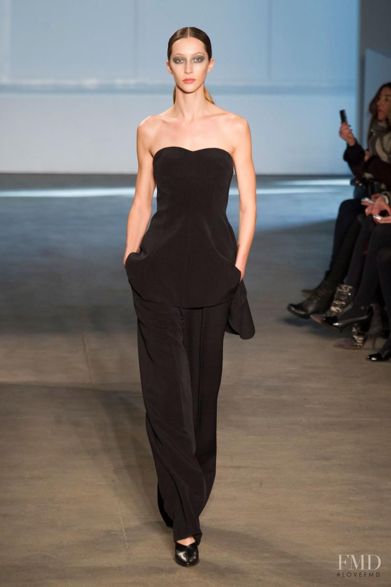 Alana Zimmer featured in  the Derek Lam fashion show for Autumn/Winter 2014
