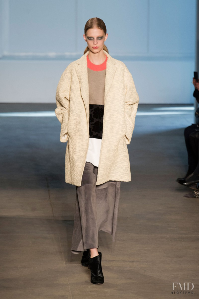 Lexi Boling featured in  the Derek Lam fashion show for Autumn/Winter 2014