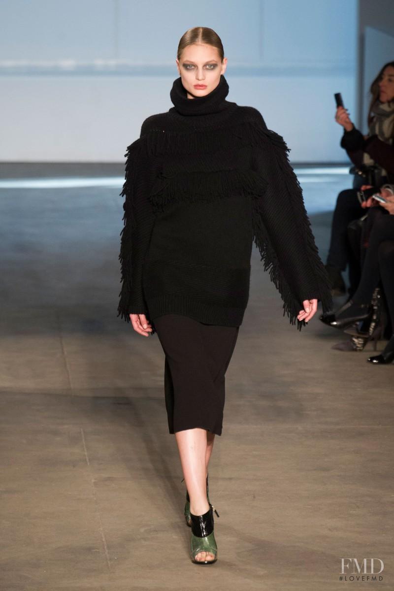 Svetlana Zakharova featured in  the Derek Lam fashion show for Autumn/Winter 2014