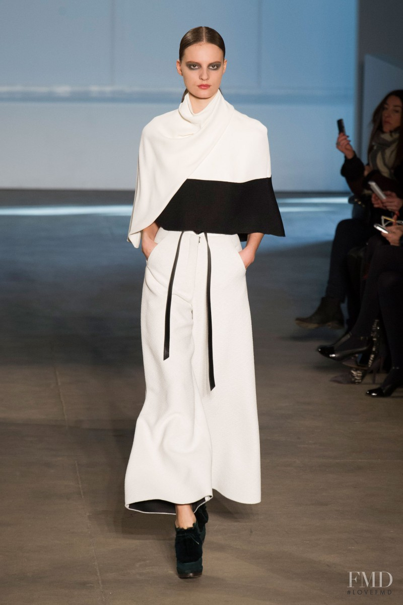 Tilda Lindstam featured in  the Derek Lam fashion show for Autumn/Winter 2014