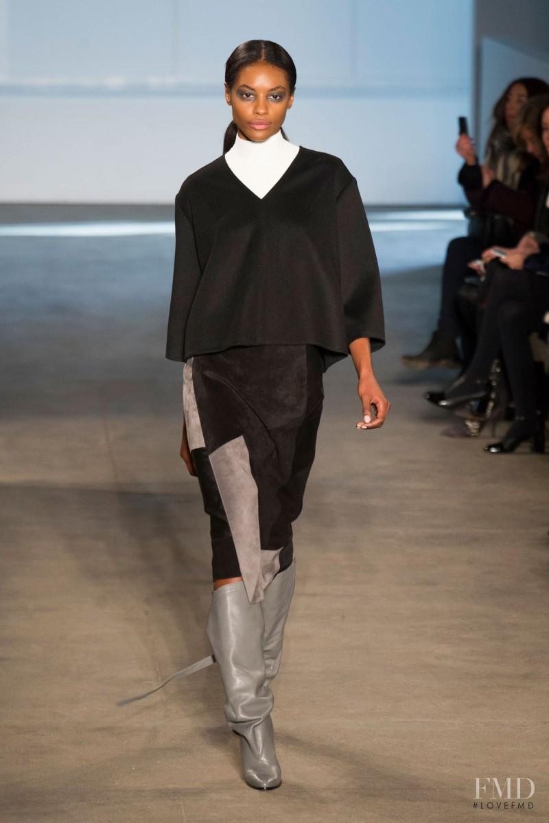 Sharam Diniz featured in  the Derek Lam fashion show for Autumn/Winter 2014