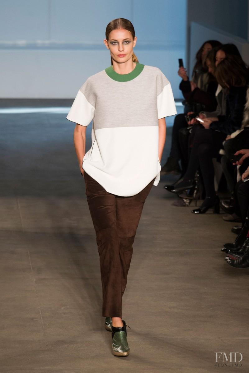 Nadja Bender featured in  the Derek Lam fashion show for Autumn/Winter 2014