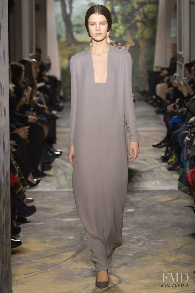 Kayley Chabot featured in  the Valentino Couture fashion show for Spring/Summer 2014