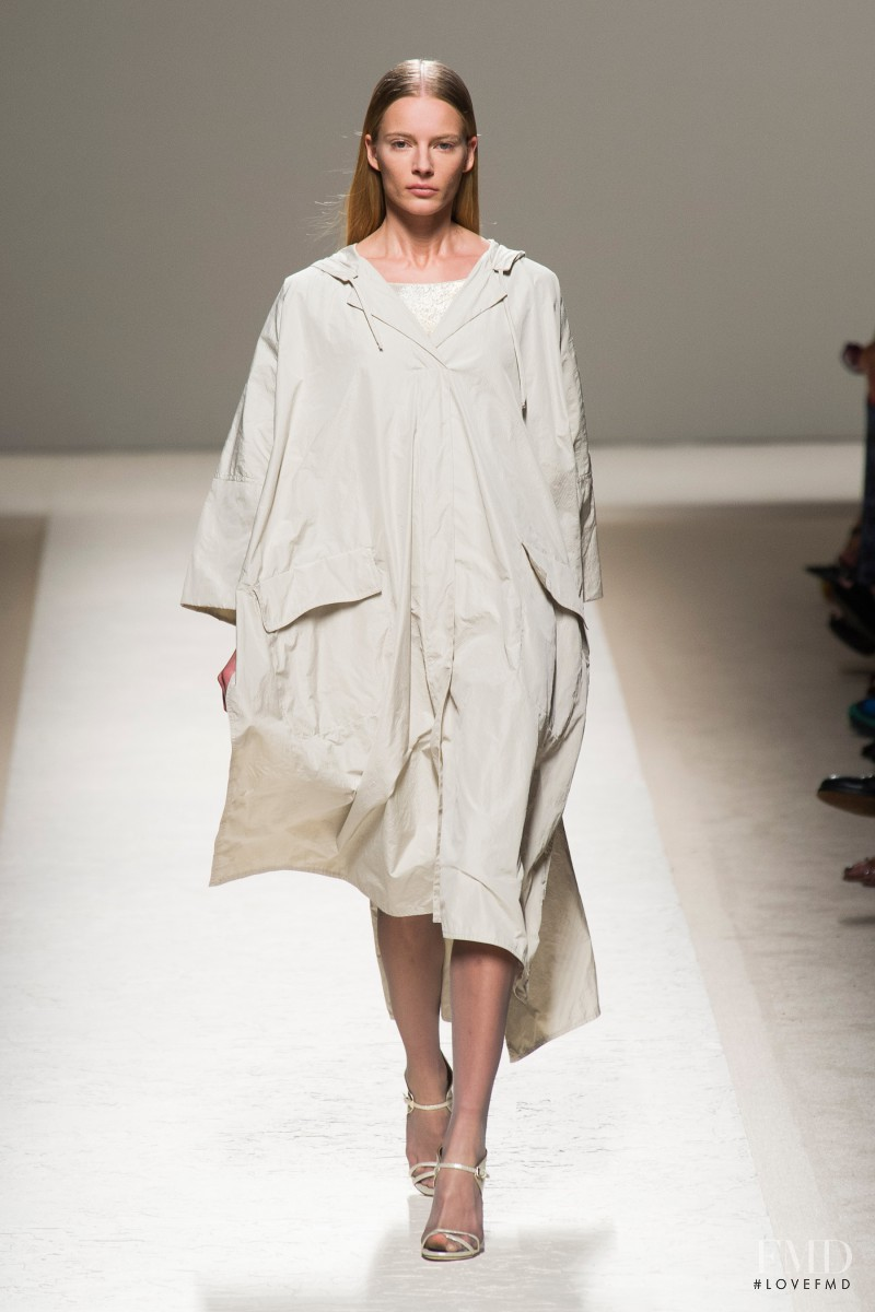 Ieva Laguna featured in  the Max Mara fashion show for Spring/Summer 2014