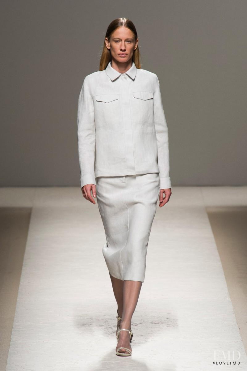Natasa Vojnovic featured in  the Max Mara fashion show for Spring/Summer 2014