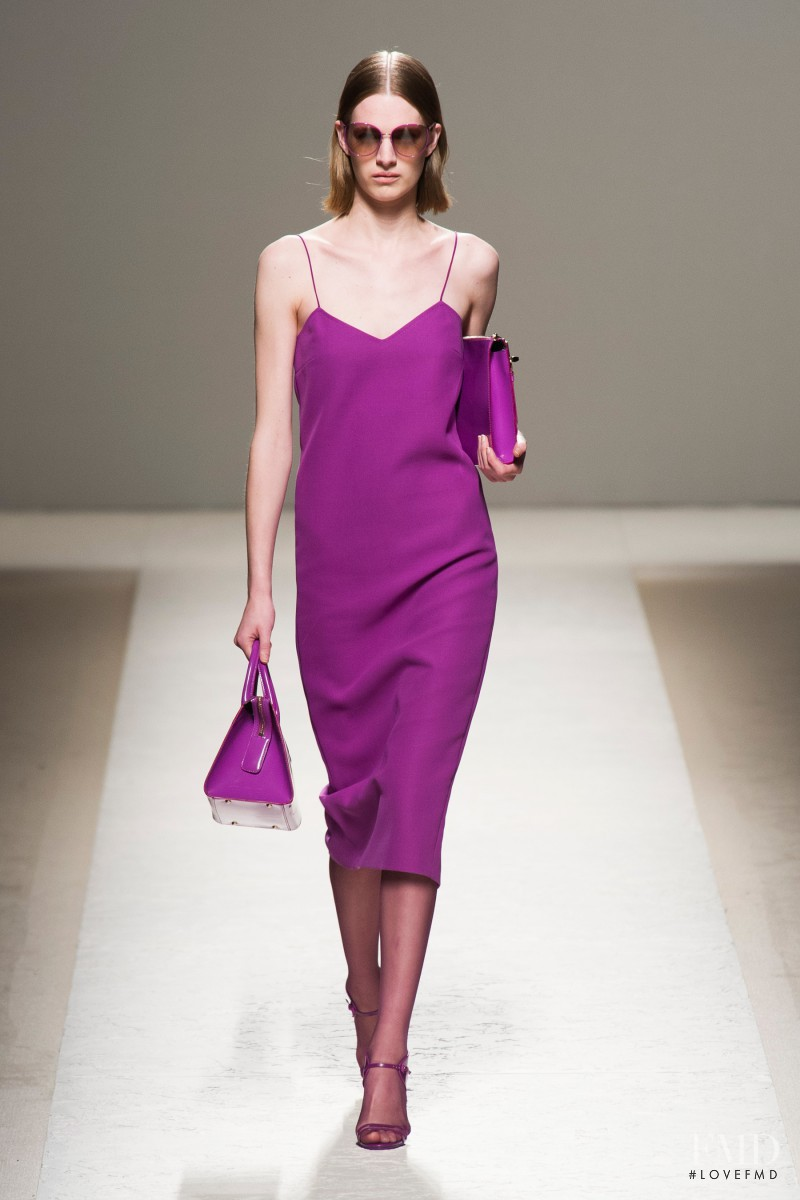 Ashleigh Good featured in  the Max Mara fashion show for Spring/Summer 2014
