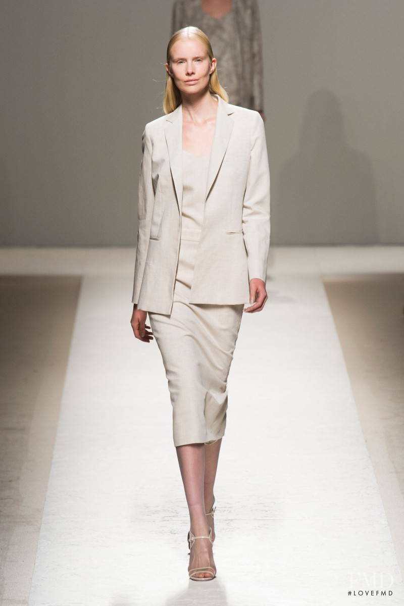 Sally Jonsson featured in  the Max Mara fashion show for Spring/Summer 2014