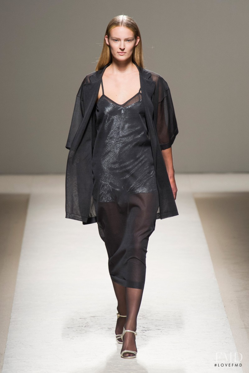 Ymre Stiekema featured in  the Max Mara fashion show for Spring/Summer 2014