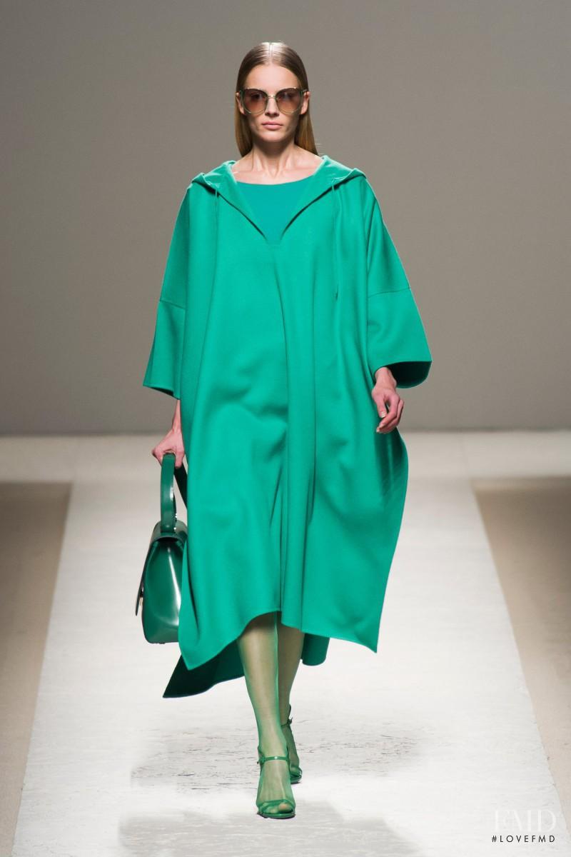 Ieva Laguna featured in  the Max Mara fashion show for Spring/Summer 2014
