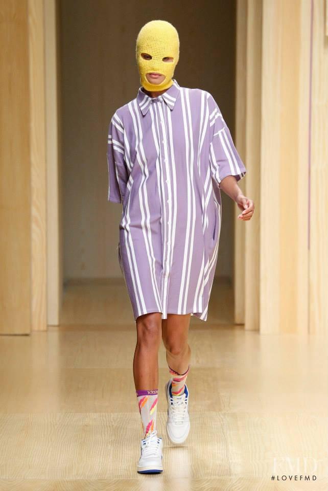 Krizia Robustella fashion show for Spring/Summer 2015