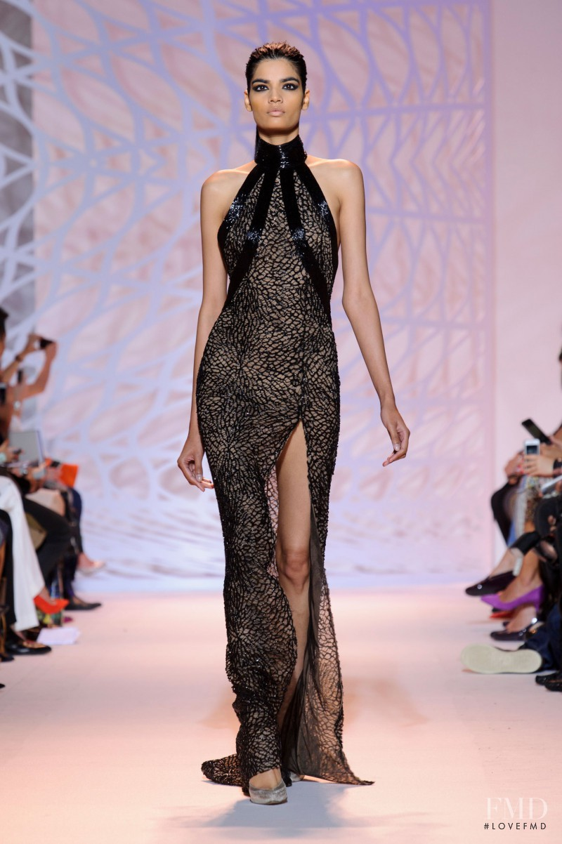 Bhumika Arora featured in  the Zuhair Murad fashion show for Autumn/Winter 2014