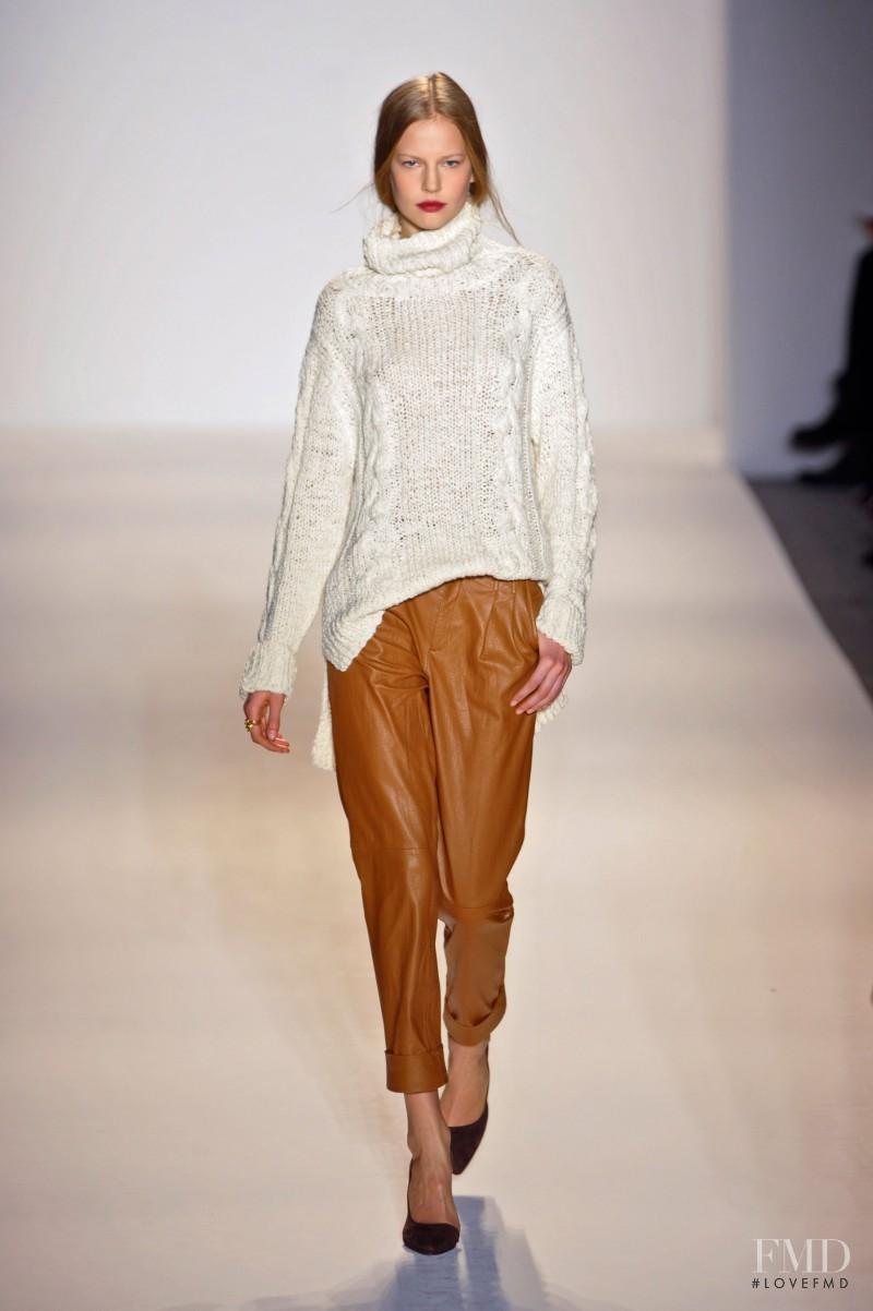Elisabeth Erm featured in  the Rachel Zoe fashion show for Autumn/Winter 2013
