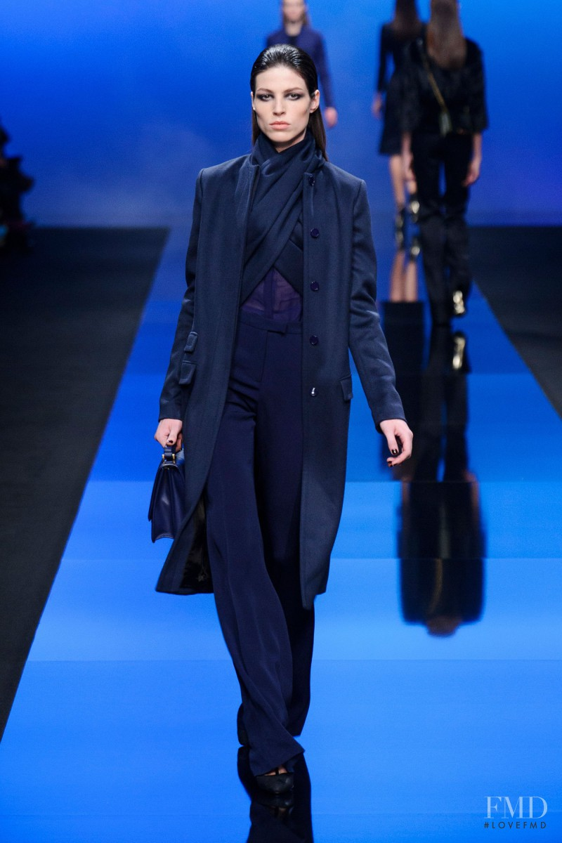 Lauren English featured in  the Elie Saab fashion show for Autumn/Winter 2013