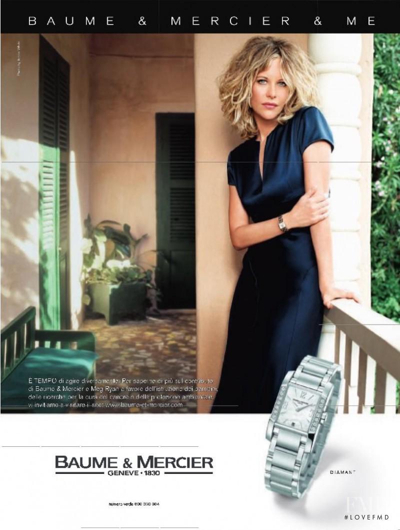 Baume et Mercier advertisement for Spring/Summer 2006