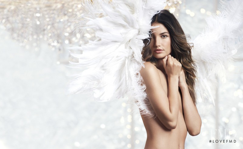 Lily Aldridge featured in  the Victoria\'s Secret catalogue for Holiday 2013