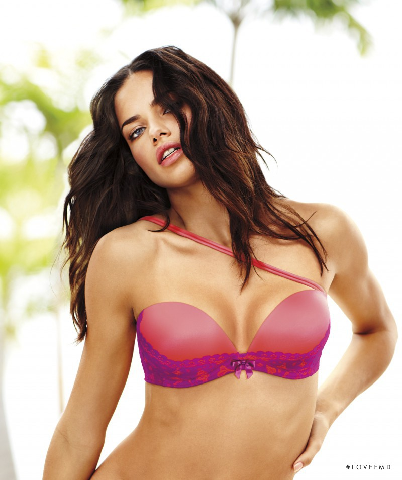 Adriana Lima featured in  the Victoria\'s Secret Fabulous catalogue for Spring/Summer 2012