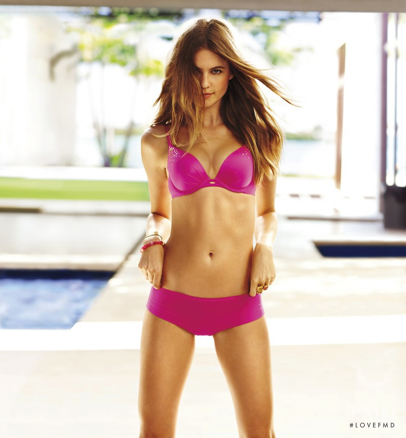 Behati Prinsloo featured in  the Victoria\'s Secret Fabulous catalogue for Spring/Summer 2012