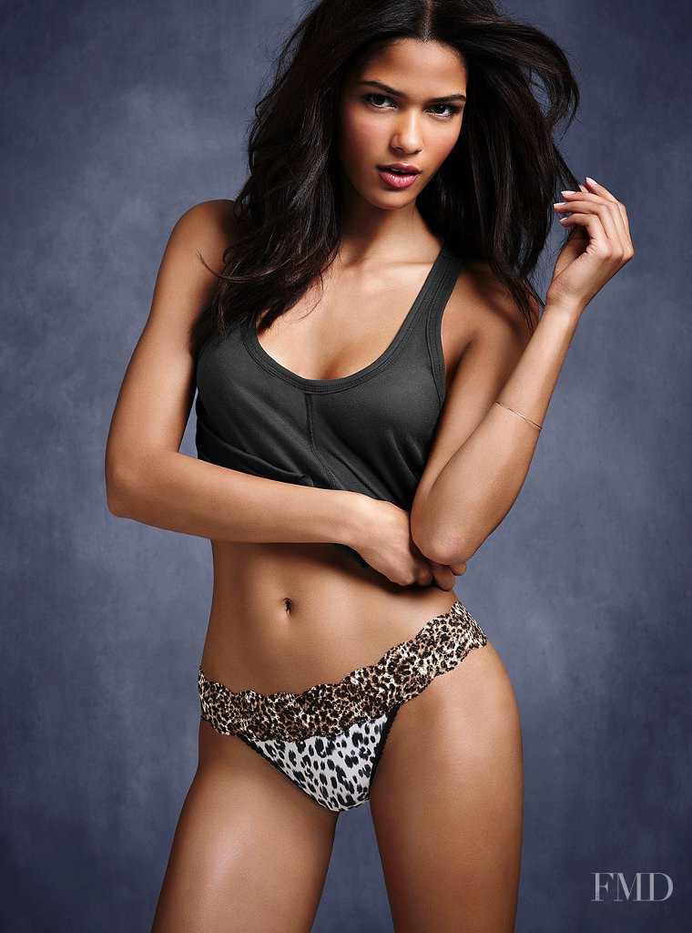 Cris Urena featured in  the Victoria\'s Secret Underwear catalogue for Spring/Summer 2012