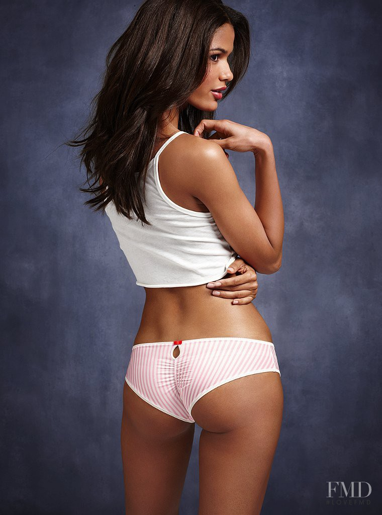 Cris Urena featured in  the Victoria\'s Secret Underwear catalogue for Spring/Summer 2012
