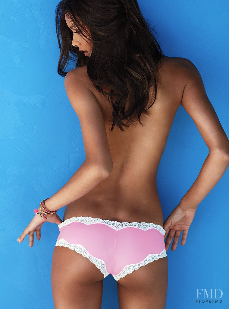 Lais Ribeiro featured in  the Victoria\'s Secret Underwear catalogue for Autumn/Winter 2011