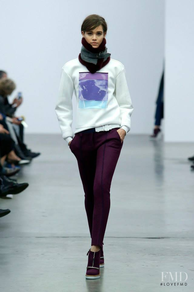 Iceberg fashion show for Autumn/Winter 2014