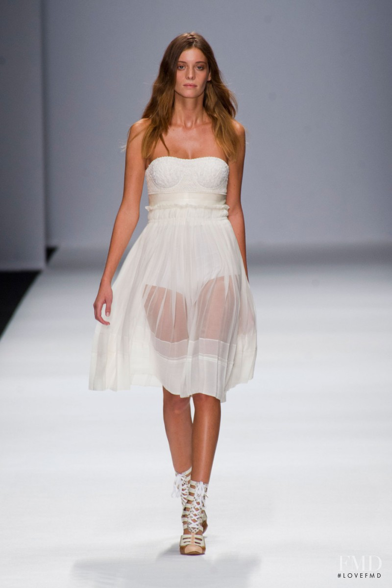 Pauline Serreau featured in  the Vanessa Bruno fashion show for Spring/Summer 2013