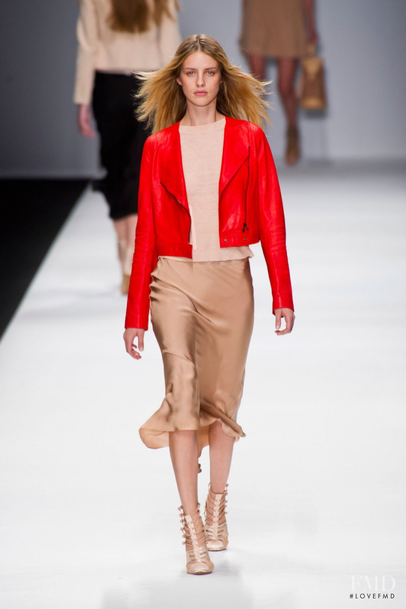 Julia Frauche featured in  the Vanessa Bruno fashion show for Spring/Summer 2013