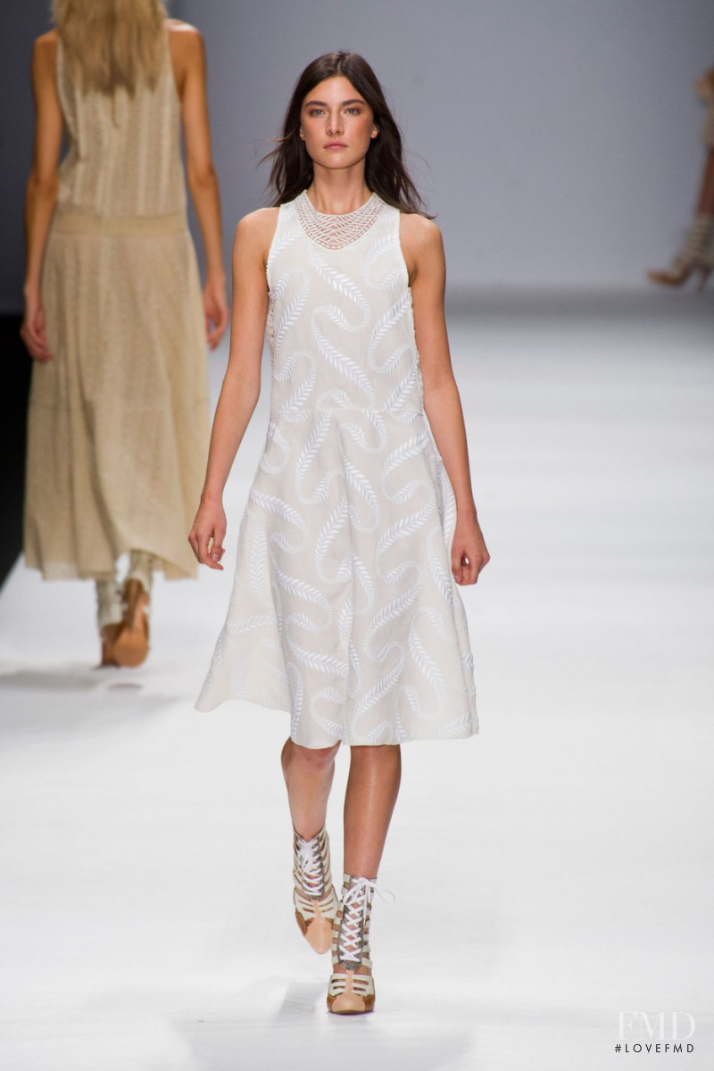 Jacquelyn Jablonski featured in  the Vanessa Bruno fashion show for Spring/Summer 2013