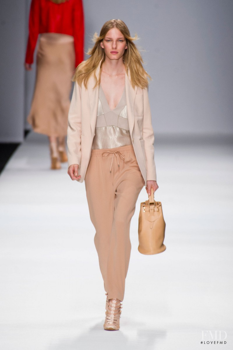 Marique Schimmel featured in  the Vanessa Bruno fashion show for Spring/Summer 2013
