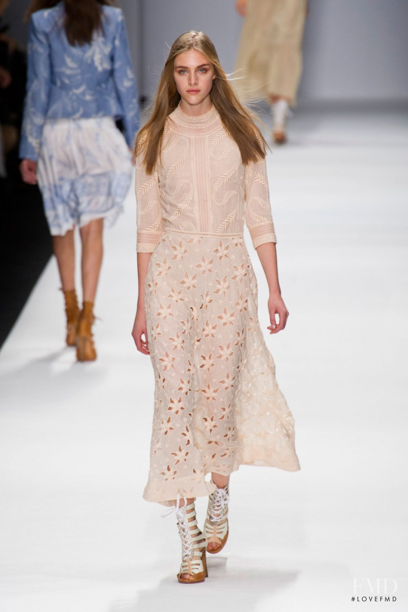 Hedvig Palm featured in  the Vanessa Bruno fashion show for Spring/Summer 2013