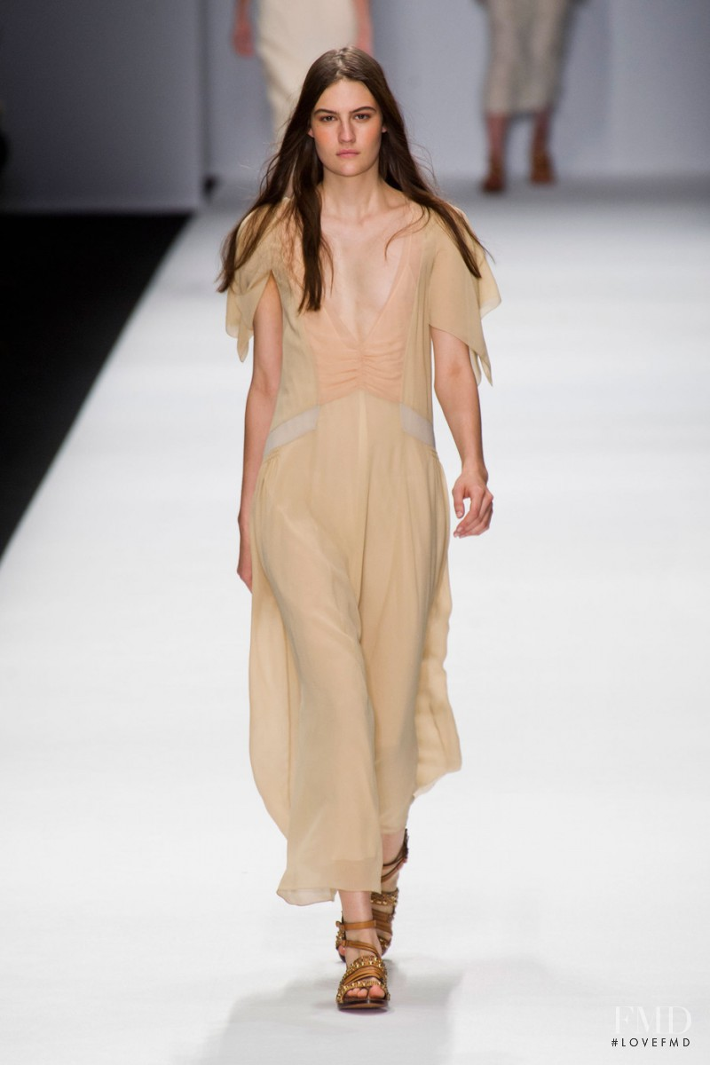 Maria Bradley featured in  the Vanessa Bruno fashion show for Spring/Summer 2013