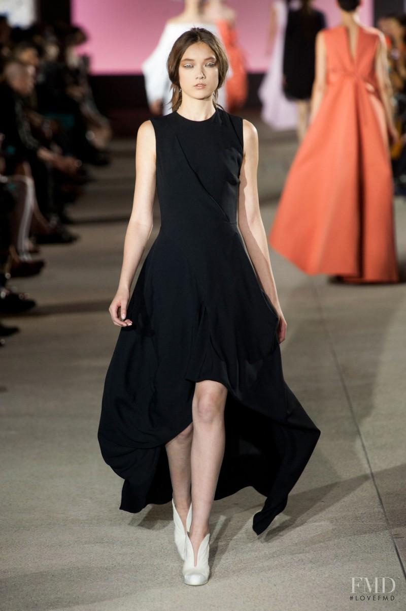 Yumi Lambert featured in  the John Galliano fashion show for Spring/Summer 2013