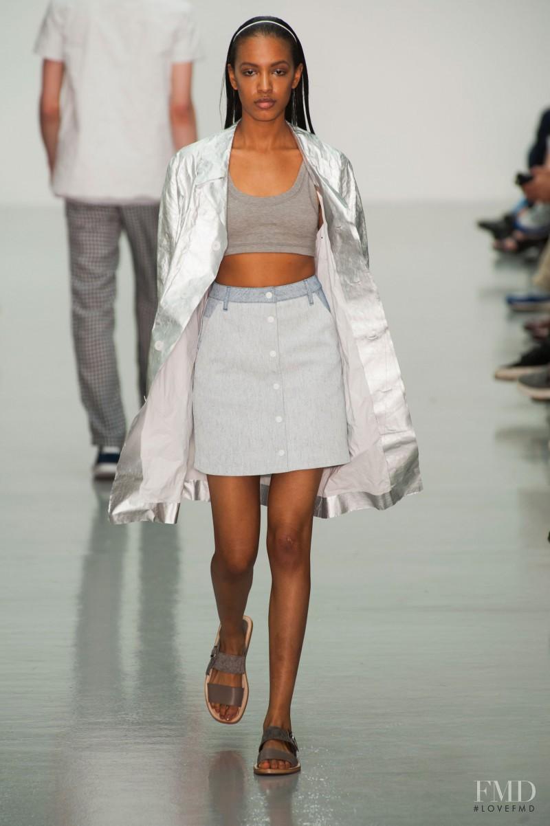 Richard Nicoll fashion show for Spring/Summer 2015