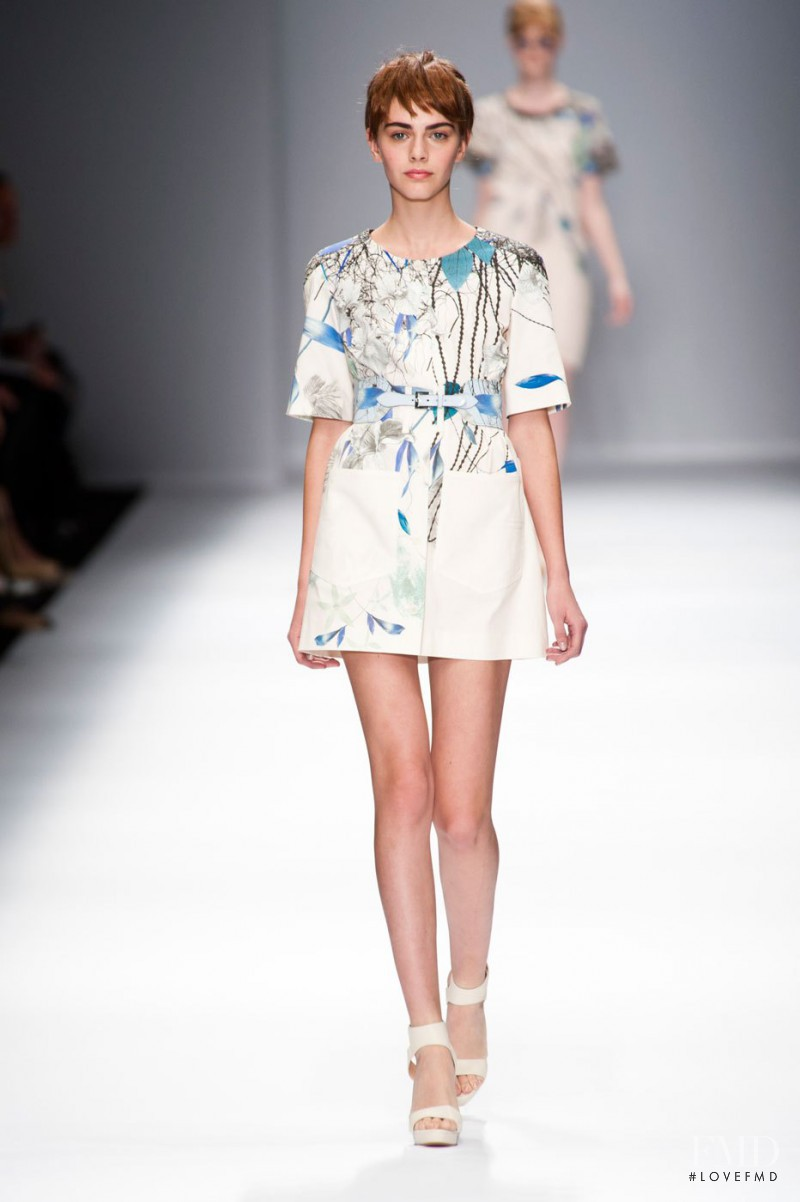 Anja Cihoric featured in  the Cacharel fashion show for Spring/Summer 2013