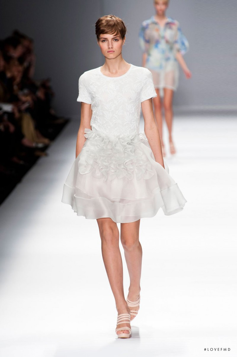 Agne Konciute featured in  the Cacharel fashion show for Spring/Summer 2013