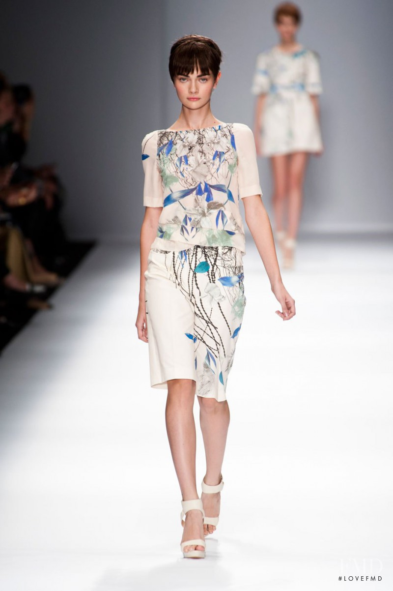 Antonina Vasylchenko featured in  the Cacharel fashion show for Spring/Summer 2013