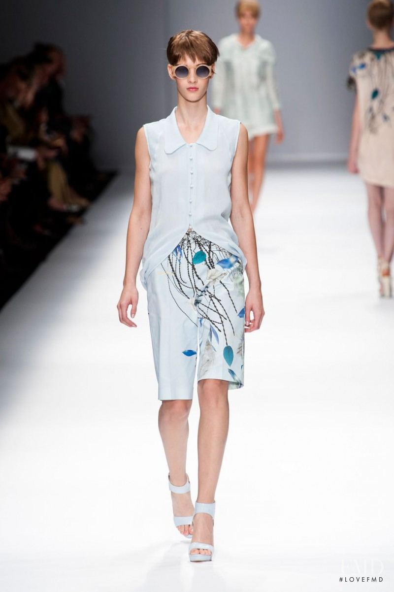 Elena Bartels featured in  the Cacharel fashion show for Spring/Summer 2013