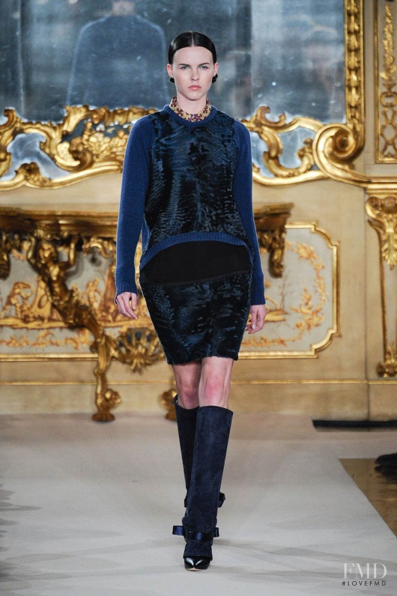 Lauren Buys featured in  the Aquilano.Rimondi fashion show for Autumn/Winter 2012