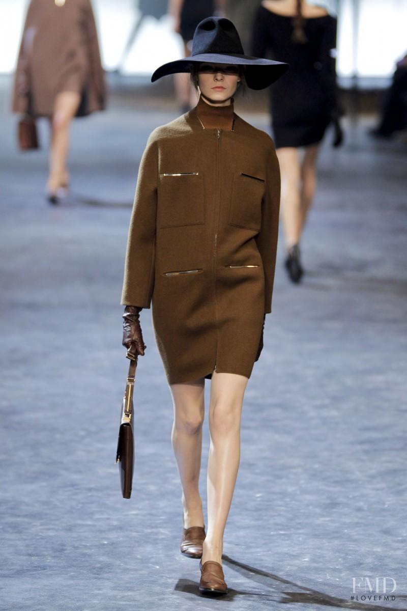 Nimuë Smit featured in  the Lanvin fashion show for Autumn/Winter 2011