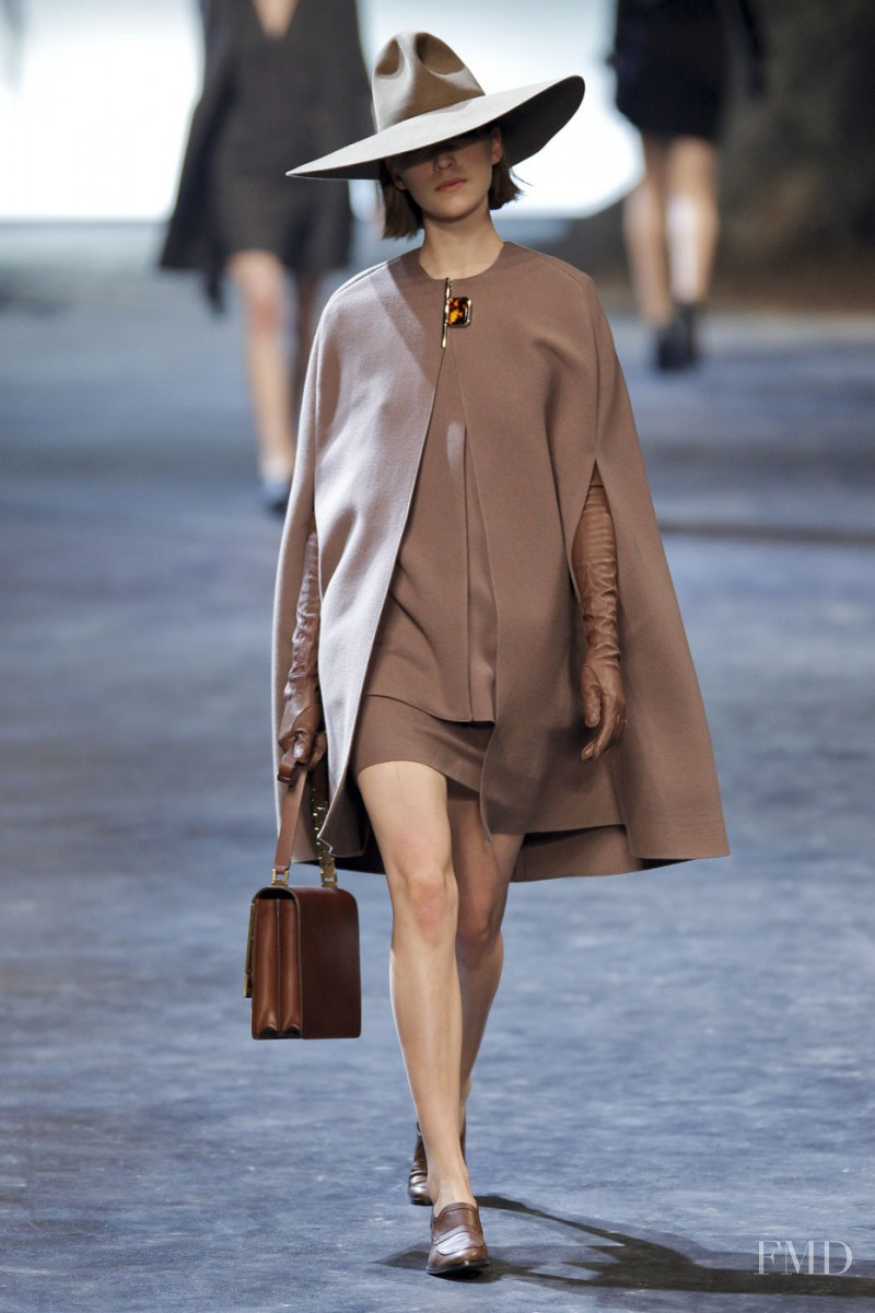 Arizona Muse featured in  the Lanvin fashion show for Autumn/Winter 2011
