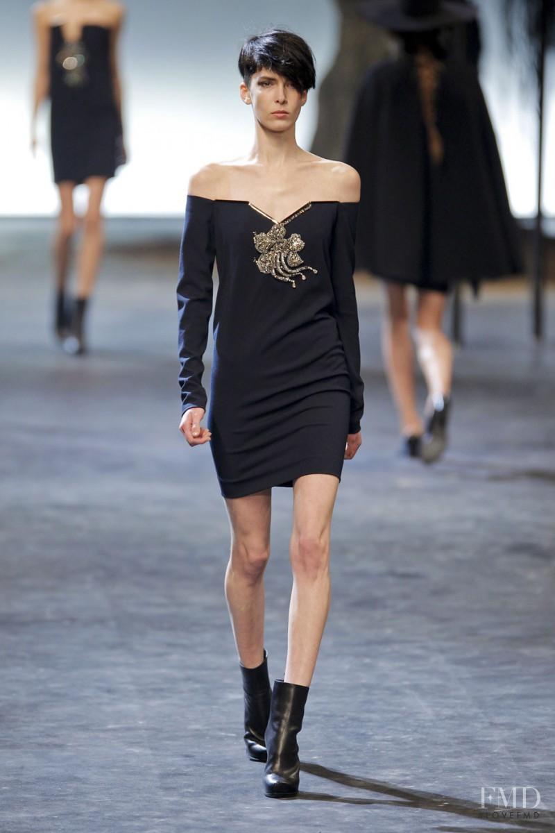 Kristina Salinovic featured in  the Lanvin fashion show for Autumn/Winter 2011