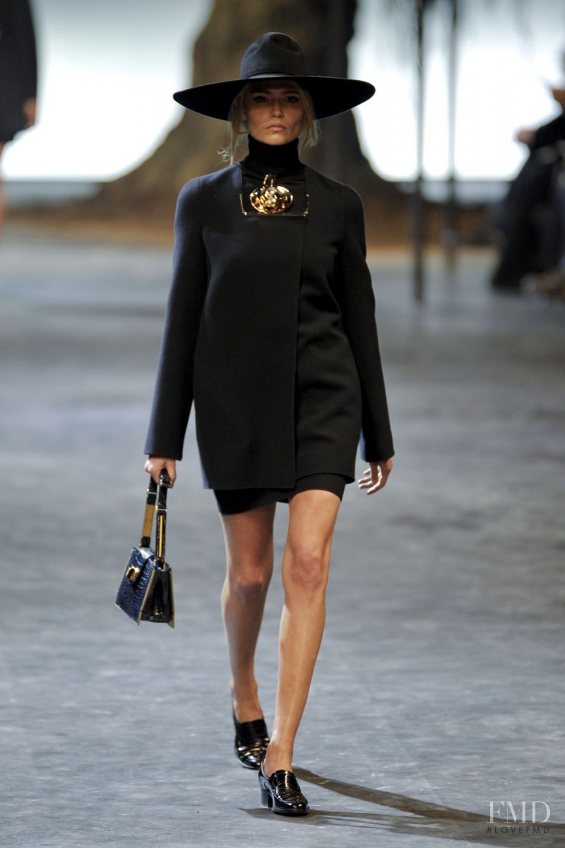 Natasha Poly featured in  the Lanvin fashion show for Autumn/Winter 2011