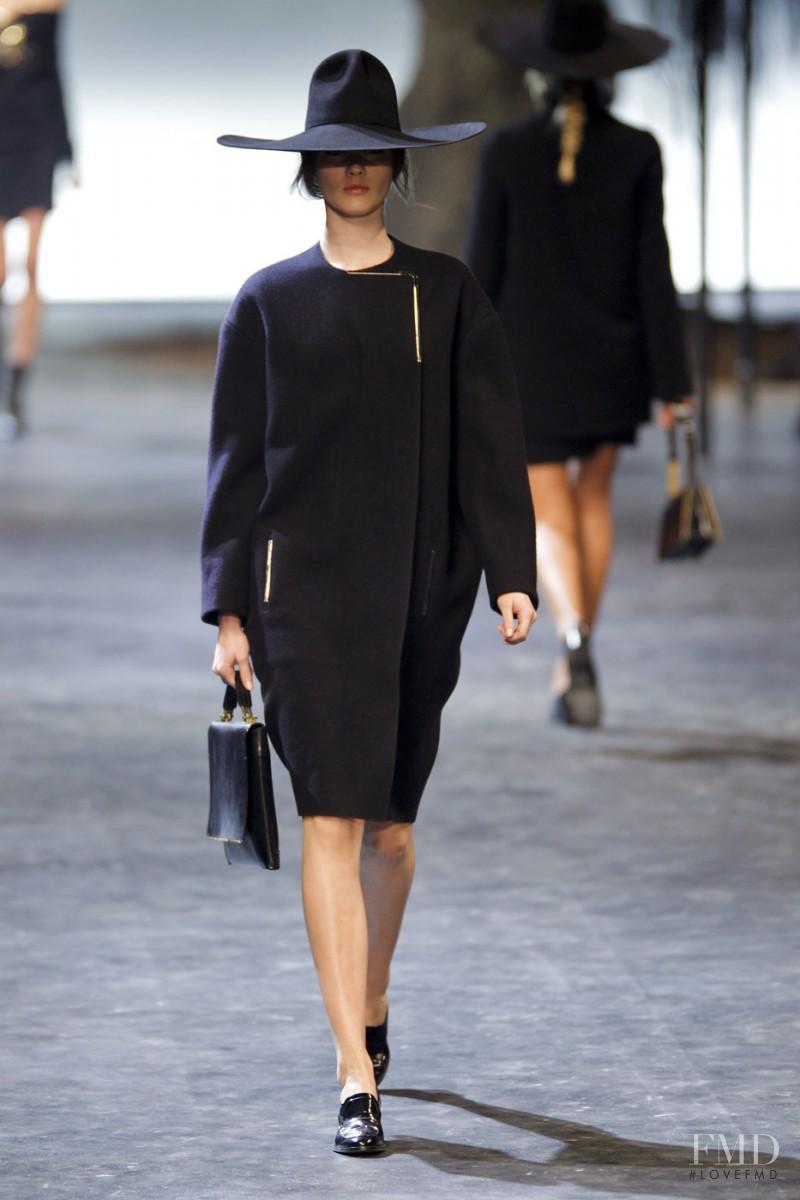 Monika Jagaciak featured in  the Lanvin fashion show for Autumn/Winter 2011