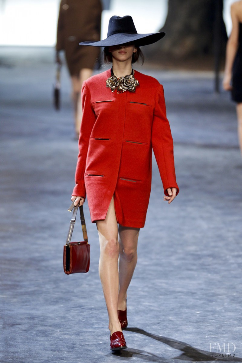 Caterina Ravaglia featured in  the Lanvin fashion show for Autumn/Winter 2011
