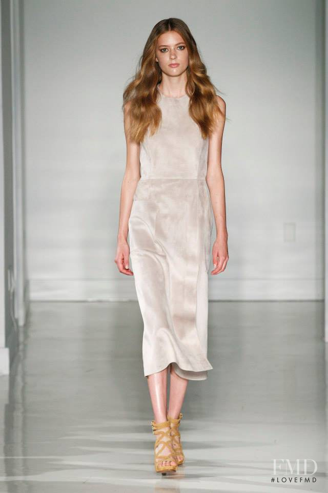 Emmy Rappe featured in  the Jill Stuart fashion show for Spring/Summer 2015