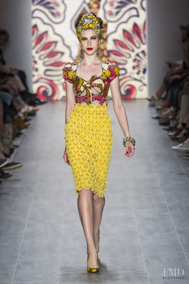 Lena Hoschek fashion show for Spring/Summer 2015