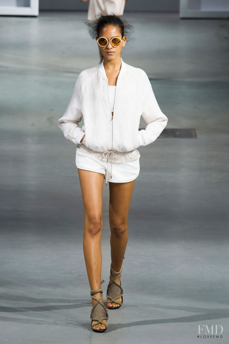 Joline Braun featured in  the 3.1 Phillip Lim fashion show for Spring/Summer 2015