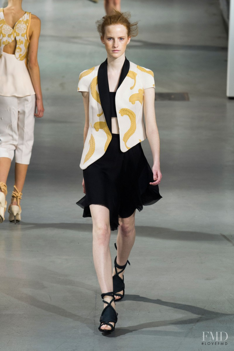 Magdalena Jasek featured in  the 3.1 Phillip Lim fashion show for Spring/Summer 2015