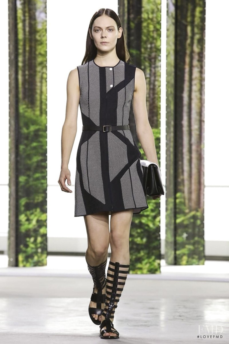 Kinga Rajzak featured in  the Hugo Boss fashion show for Spring/Summer 2015
